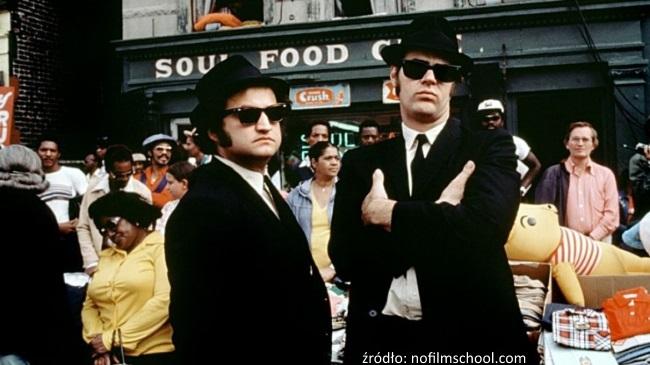 blues brothers w okularach przeciwsłonecznych
