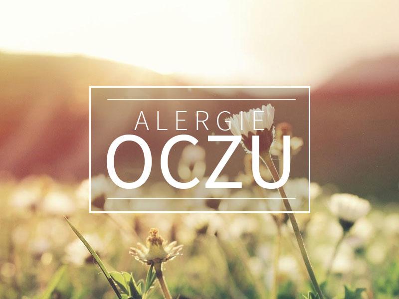alergie oczu