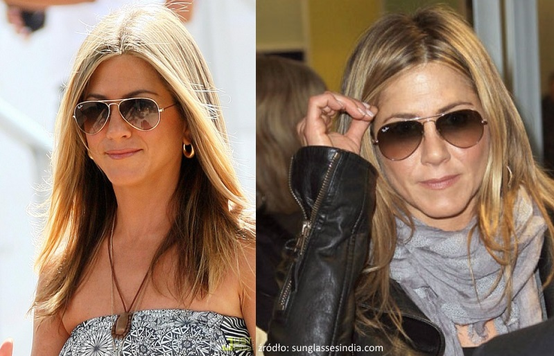 jennifer aniston w okularach
