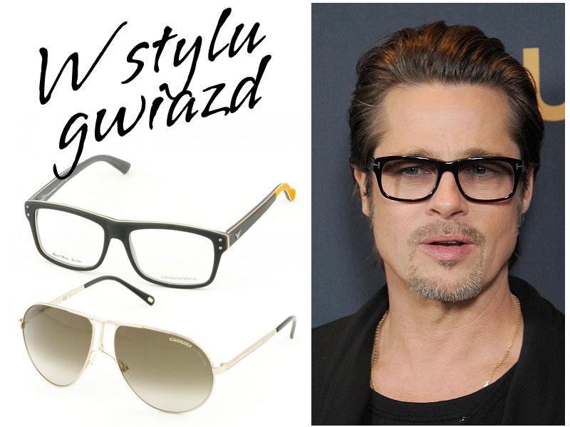 Brad Pitt - okulary