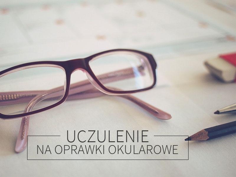 uczulenie na oprawki okularowe