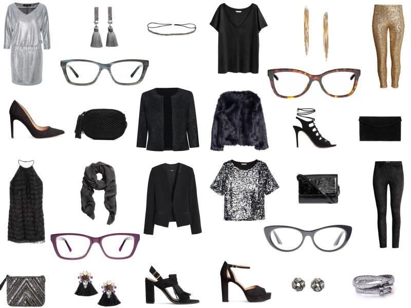 stylizacje z okularami - Andrzejki
