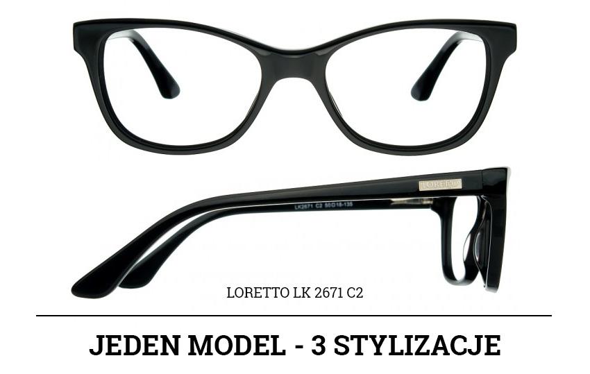 stylizacje z okularami loretto