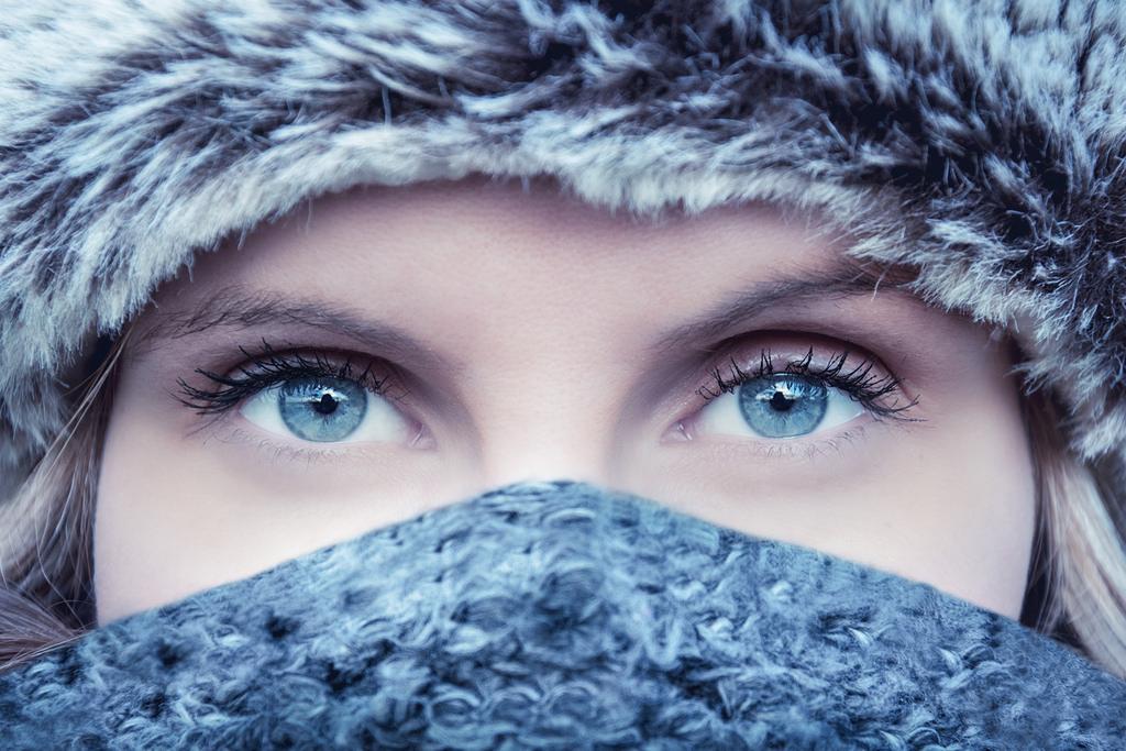 jak dbać o oczy zimą