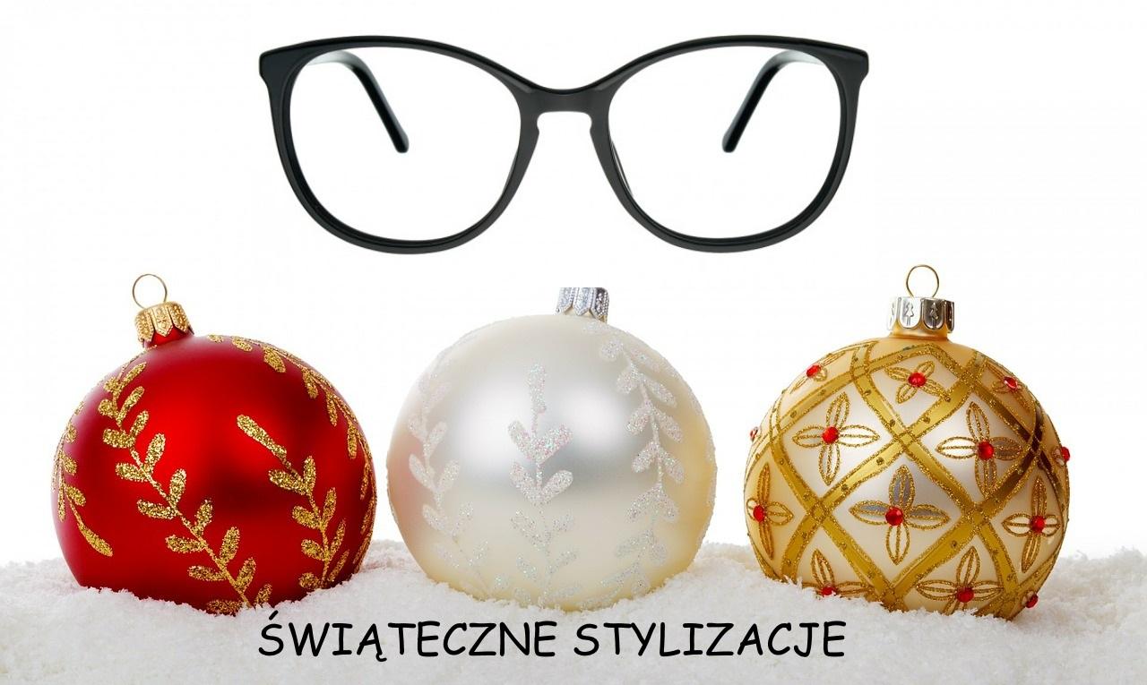 świąteczne stylizacje z okularami