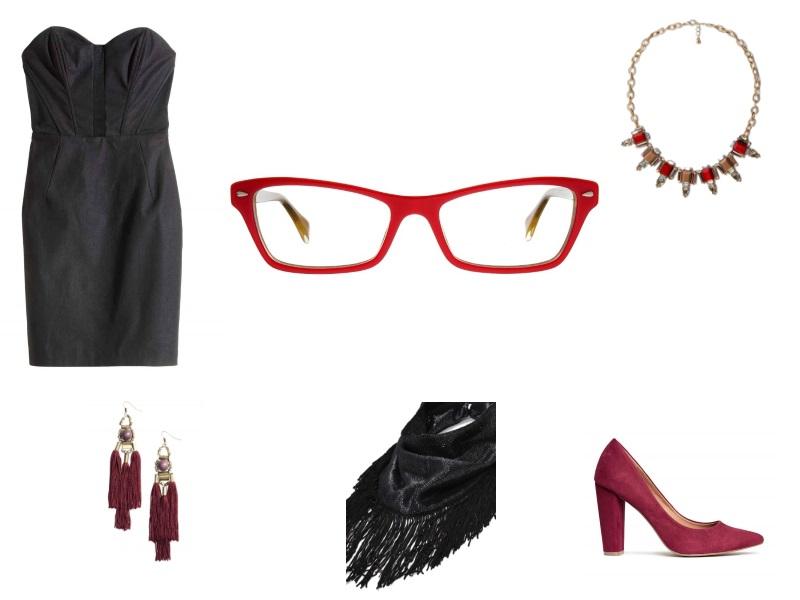 zestaw 5 z okularami - sylwester