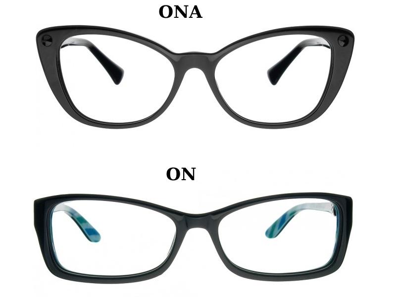 okulary kocie oczy dla pary