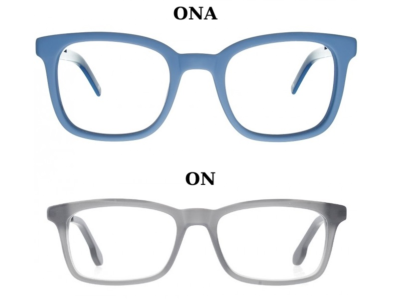 okulary wayfarer dla pary