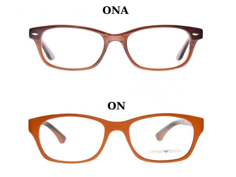 okulary owalne dla pary