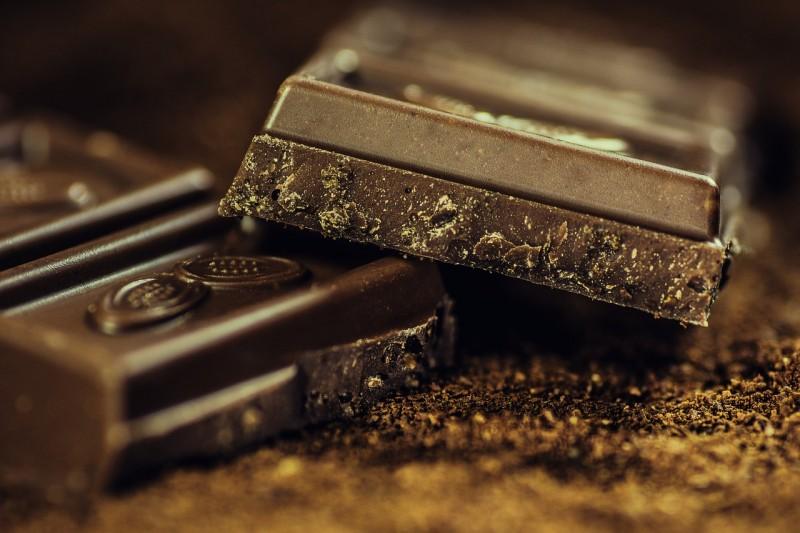 ciemna czekolada wzrok