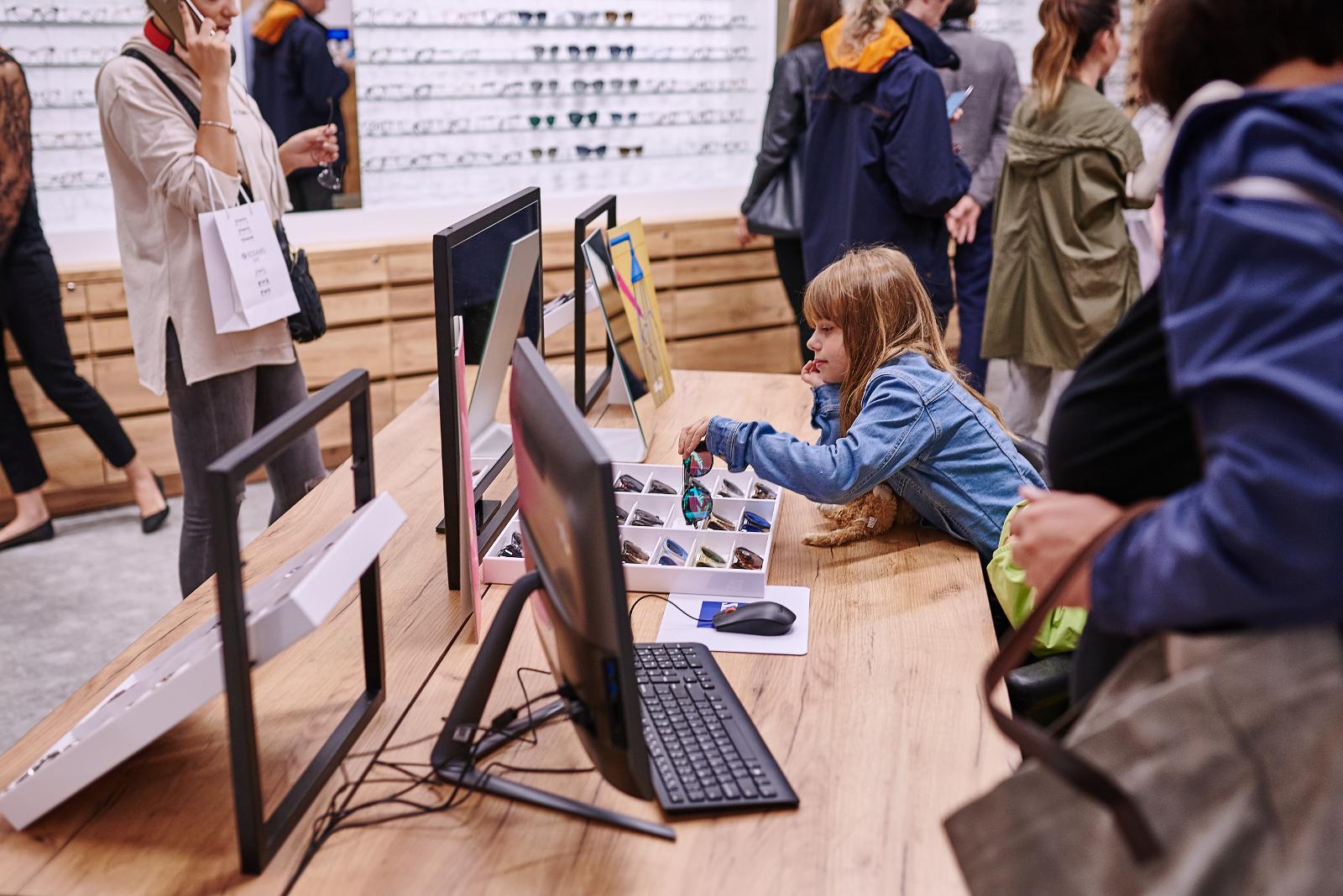 okulary dla dzieci Kodano Optyk w C.H. Czyżyny