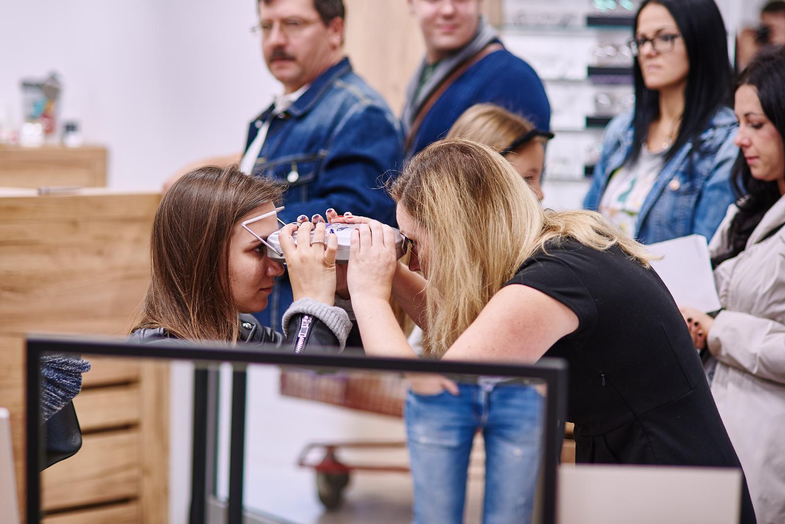 badanie wzroku w Kodano Optyk w C.H. Czyżyny