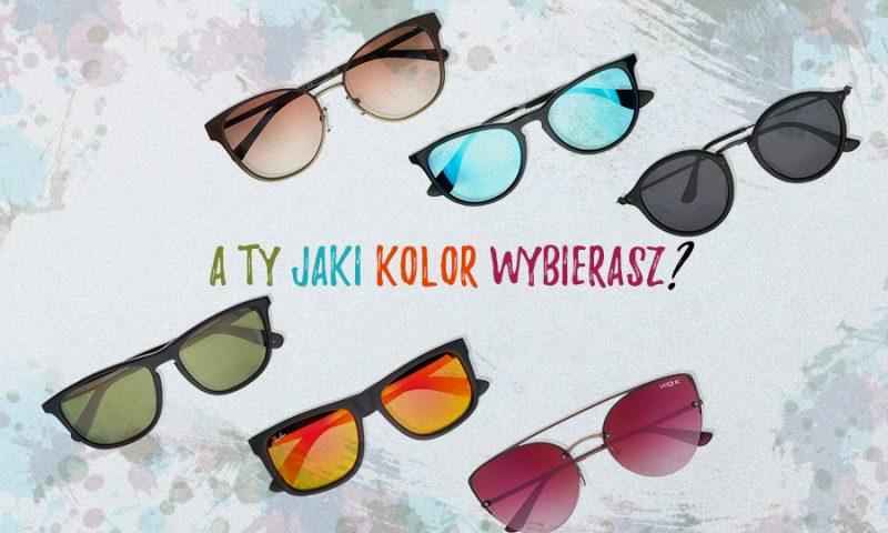 Kolory soczewek w okularach przeciwsłonecznych