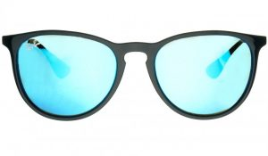 Niebieskie soczewki okularowe