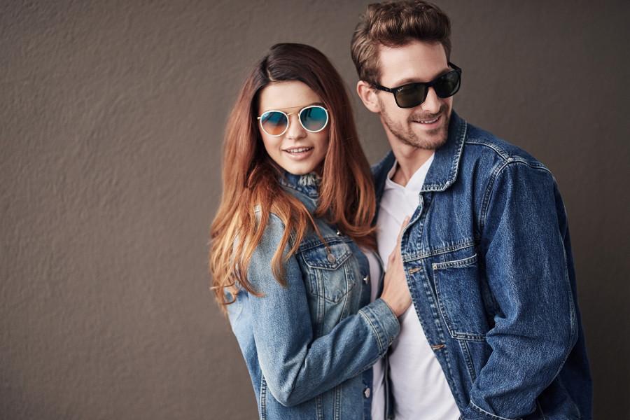 Stylizacje w okularach przeciwsłonecznych