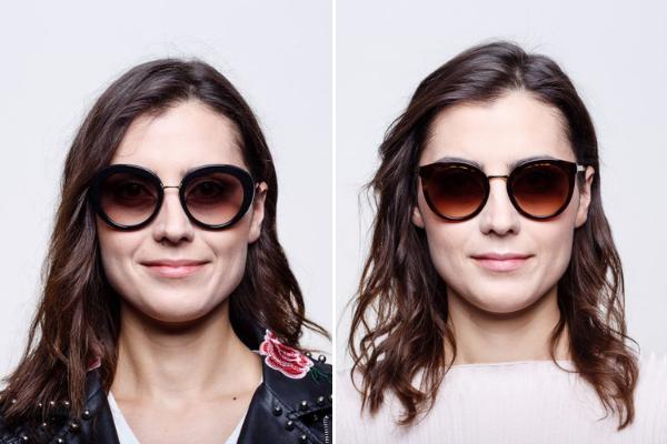 """11cb3df00b3318 Ducha retro czuć na przykład w wielkich oprawkach zwanych """"muchami"""". Tego  typu okulary modne były już w latach 70. ..."""