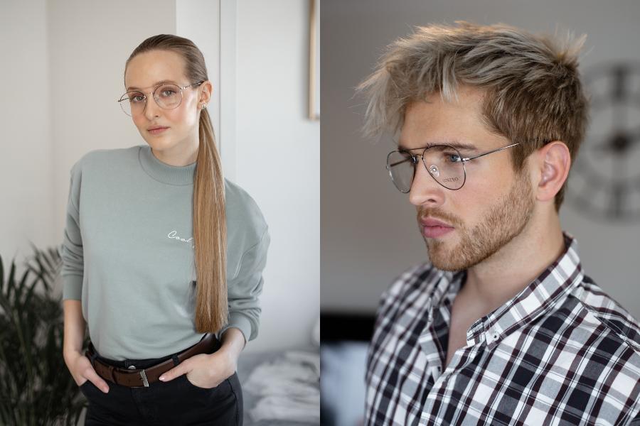 3D METALOWE okulary oprawki piękne fioletowe OPTYK